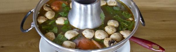 *Tom Yum (Hot & Sour Soup)