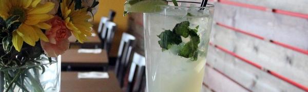 Ice Mint Soda (Fresh Lime Juice)