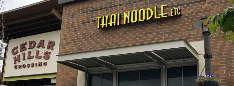 "<a href=""https://thainoodleetc.com/welcome-to-thai-noodle-etc/""><b>Welcome to Thai Noodle Etc.</b></a><p>Welcome to Thai Noodle Etc., located in the Cedar Hills shopping mall in Beaverton next the to movie theatre. We have more than 15 years of…</p>"